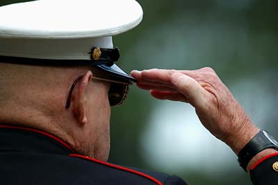 Navy Officer Salute